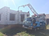 Заливка перекрытия частный дом